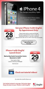 Singapore iPhone Price Plans M1, Starhub, Singtel