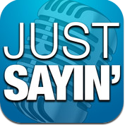 Just Sayin' - Share your voice, photo & video! iPhone App Review!