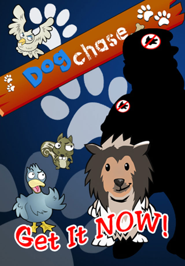 Dog Chase: Pawesitively Addicitve Running Game