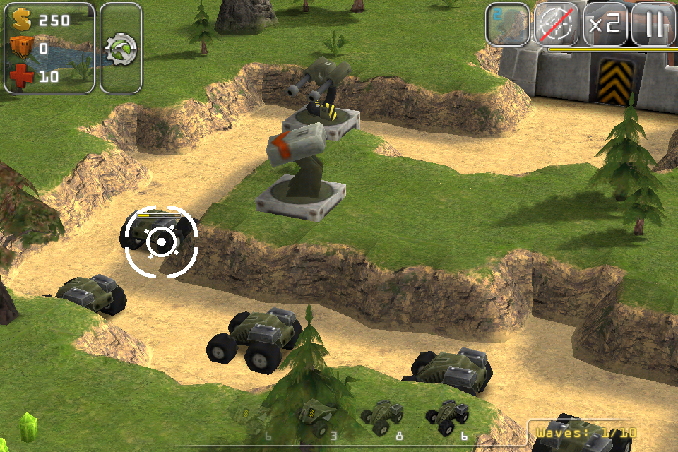Total Defense 3d Tower Defense Game With Intense Action