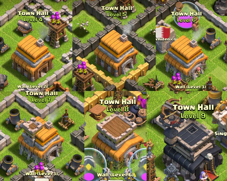 clash of clans defense layout level 5