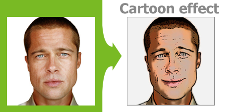 AR Pho.to Cartoonizer, cartoon effect, cartoon filter